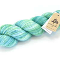 SOCK FINE 4ply - Emerald