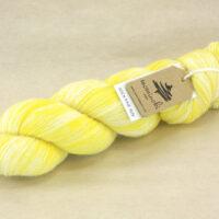 SOCK FINE 4ply - Lemon Yellow