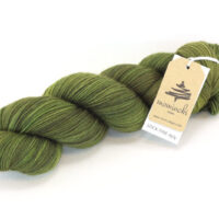 SOCK FINE 4ply - Olive Green