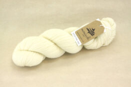 SOCK FINE 4ply - Pure White