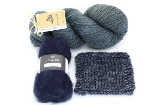Snowy Forest Kit - Black Denim 1