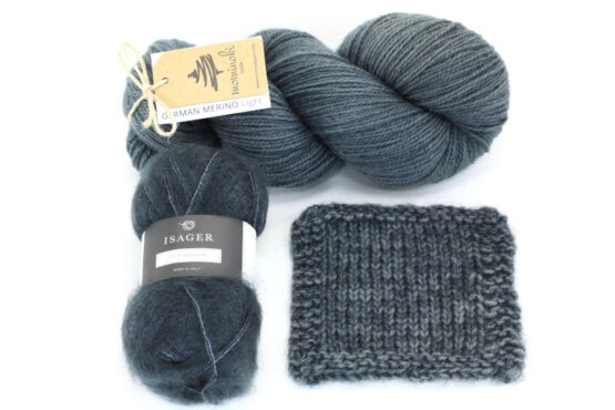 Snowy Forest Kit - Black Denim 2