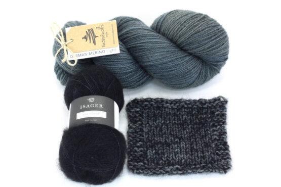 Snowy Forest Kit - Black Denim 3