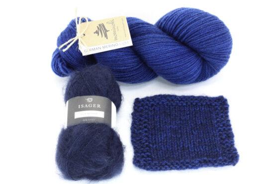 Snowy Forest Kit - Blue Denim 1