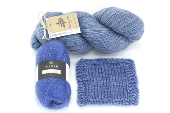 Snowy Forest Kit - Blue Denim 3