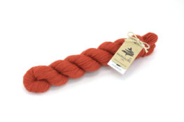 Finnwool Naturally Dyed - Madder Blood Orange