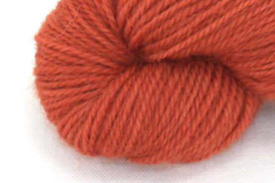 Finnwool Naturally Dyed - Madder Blood Orange zoom