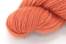 Finnwool Naturally Dyed - Madder Pink Orange zoom